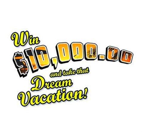 Vacation Giveaways - pch 10 000 dream vacation sweepstakes
