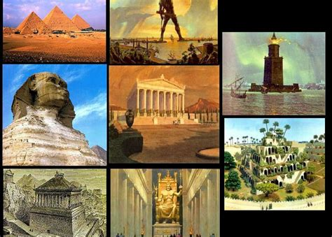 7 Architectural Wonders Of 2010 by The 7 Wonders Of The Ancient World 7 Wonders Of The World