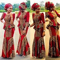 Traditional Nigerian African Dress Style