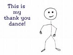 Animated Thank You Dance