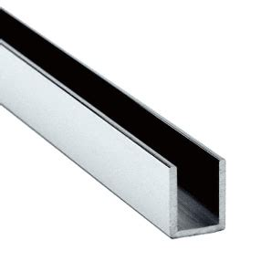 stainless steel u section channel 15mm glazing u channel 3m long polished satin brushed