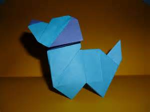 How To Make A Origami Puppy - origami puppy edwin corrie