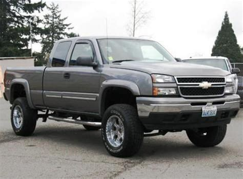 cheap ls for sale lifted truck chevrolet silverado 1500 ls extended cab 06