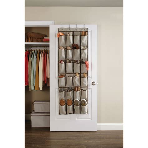 door shoe organizer whitmor supreme white over the door shoe organizer walmart com