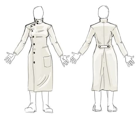 pattern for a lab coat howie lab coat pattern project magician pinterest