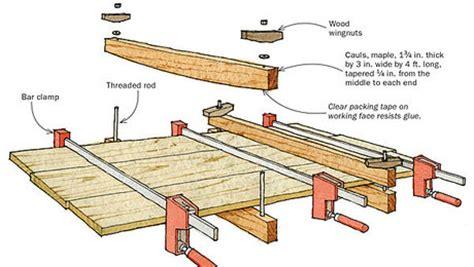 woodworking caul cling jigs finewoodworking
