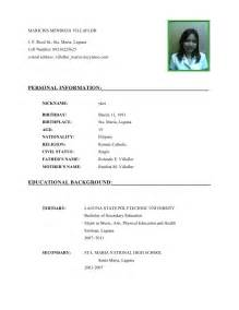 Curriculum Vitae Research by Cv Template Student Doc Example Of Mla Citation In A