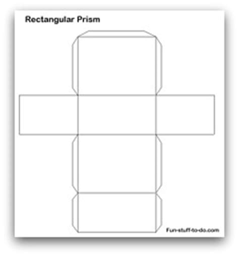 rectangular prism template the gallery for gt rectangular prism template