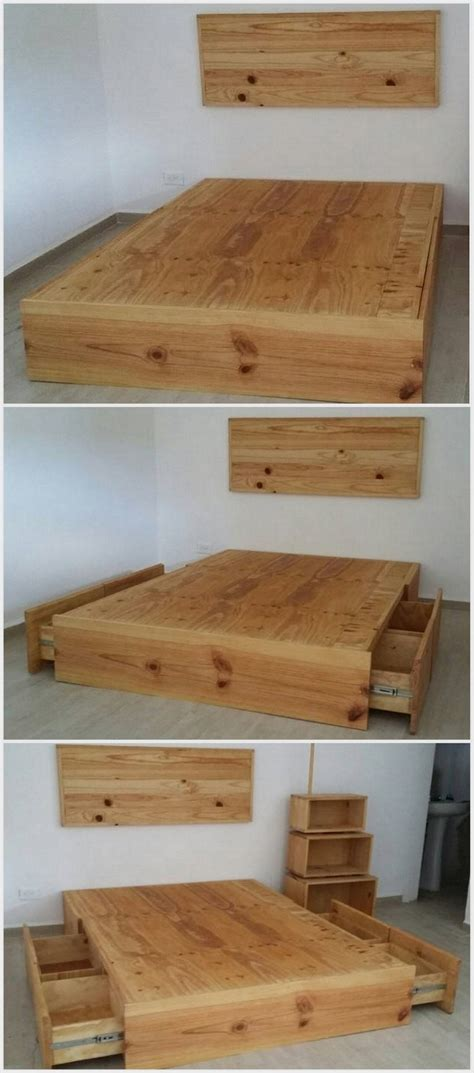 shipping pallet bed recycling ideas with old shipping pallets pallet wood