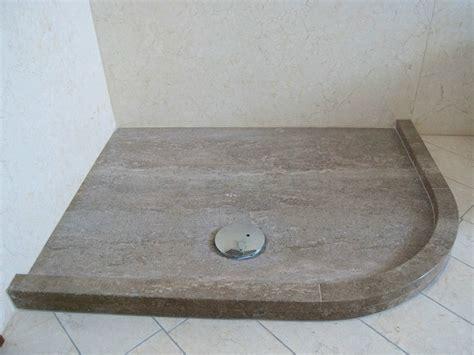 piatto doccia in opera piatto doccia angolare in pietra naturale ametista rama 1956