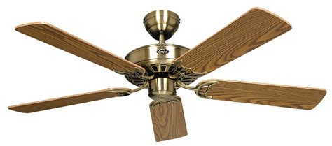 Vintage Ceiling Fans Uk by Ceiling Fan Classic Royal Brass Antique With Pull Cord 75
