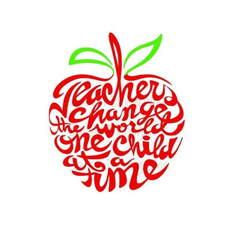 teachers change the world one child at a by