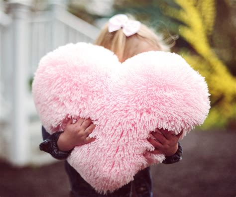 Pink Fluffy Pillows fluffy pink shaped decorative pillow valentines day