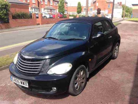 electronic stability control 2006 chrysler pt cruiser auto manual chrysler 2006 pt cruiser convertible limited a black spares or repair