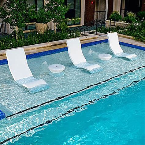 ledge lounger ledge lounger side table ultra modern pool patio