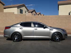 Kia Optima Rims Kia Optima Custom Wheels 20x8 0 Et 35 Tire Size 245 35