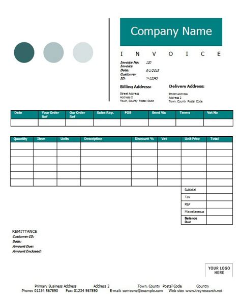 sle invoices templates for word sales invoice template printable word excel invoice