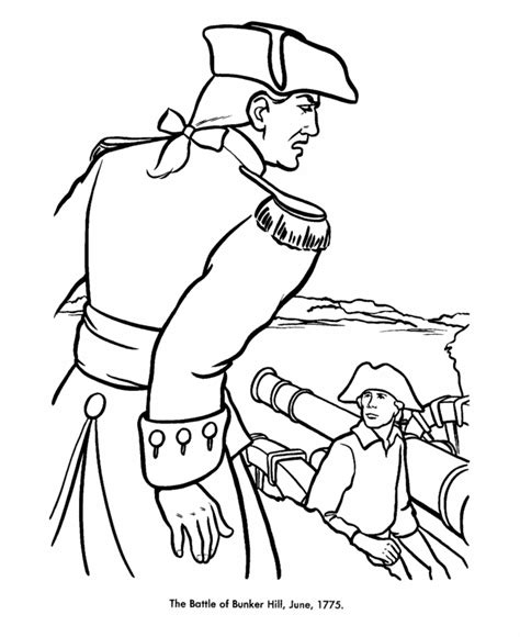 revolutionary war coloring sheets pdf coloring pages