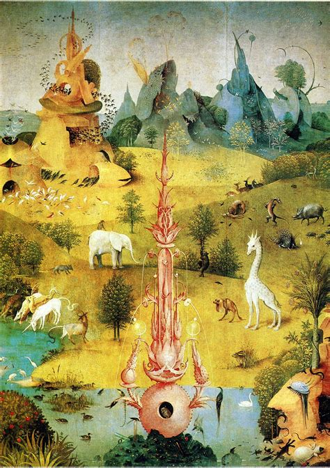 libro hieronymus bosch garden of hieronymus bosch the garden of earthly delights 1490 1510 detail from its left wing