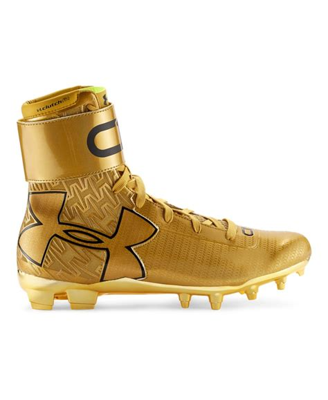 football shoes armour s armour c1n mc gold football cleats ebay