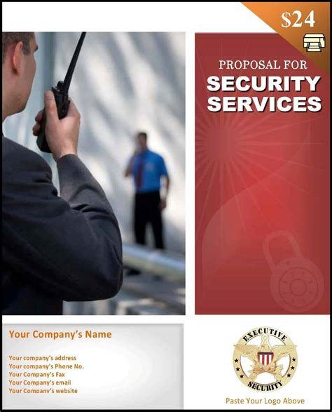 Security Proposal Template Startasecuritycompany Com Security Business Template