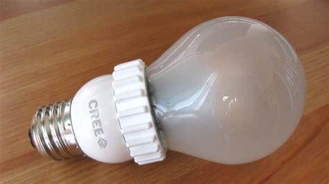 Led Light Bulbs Review Review Cree Led Light Bulb