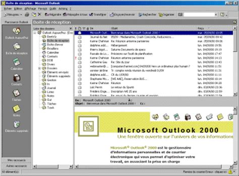 Calendrier V N B Outlook 2000 Test Et Avis