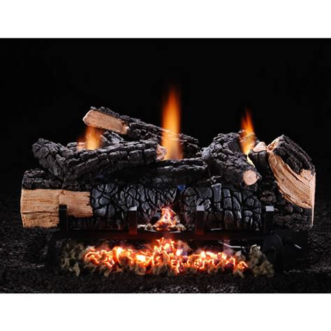 Hargrove Fireplace Logs by Hargrove Cumberland Char Vent Free Gas Log Set With Manual