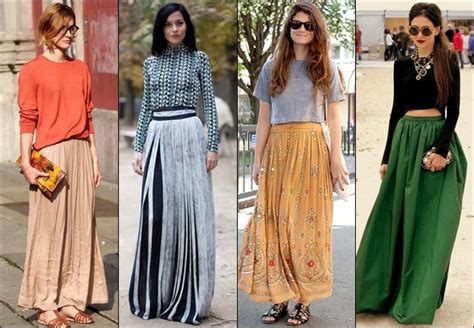maxi skirt with pleats gorgeautiful