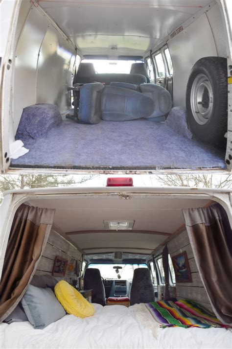 remodeled cers cer van before and after remodel a small life