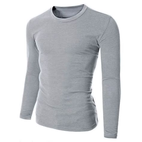 Basic Sweater Polos 2 100 cotton mens sleeve plain t shirt slim fit casual shirts basic tees new ebay