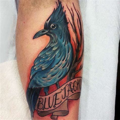tattoo everett wa travisbroyles bluejack blue bird bird