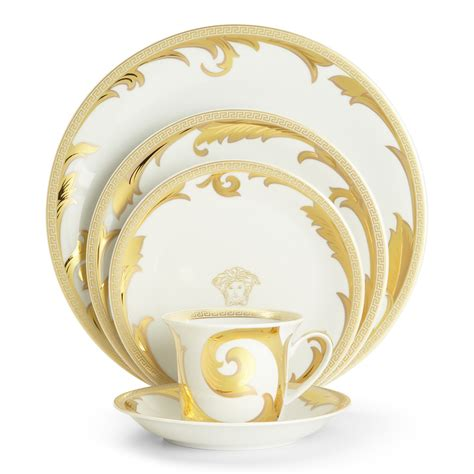 Rosenthal Meets Versace Arabesque Gold Dinnerware   Bloomingdale's
