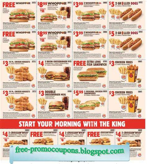 burger king printable vouchers uk printable coupons 2018 burger king coupons