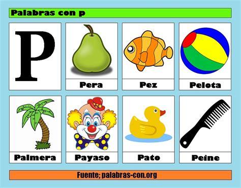 Imagenes En Ingles Con La Letra P | palabras con la letra p p ejemplos de palabras con p