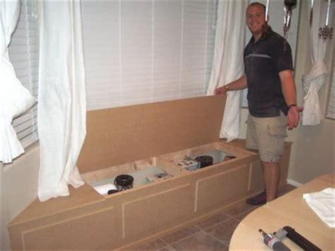diy window seat  hidden storage  totally love