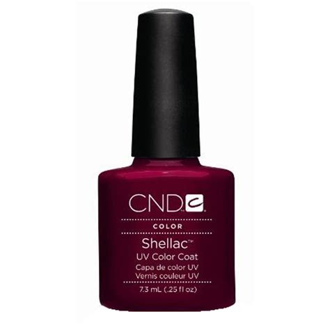 Cnd Gel L by Cnd Shellac Uv Color Coat Gel Nail Decadence
