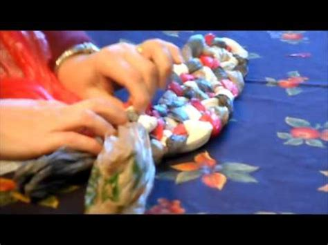 How To Make A Doormat Out Of Plastic Bags by Braided Plastic Bag Rug 2