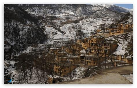 wallpaper 4k iran masouleh town iran winter 4k hd desktop wallpaper for
