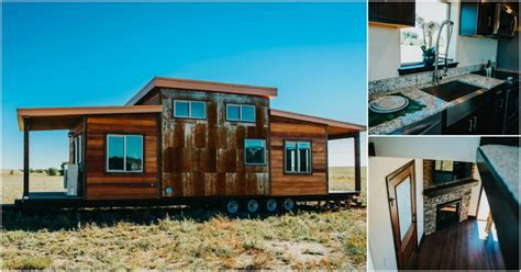 most luxurious tiny homes rustic and luxurious 328 square foot mount antero tiny