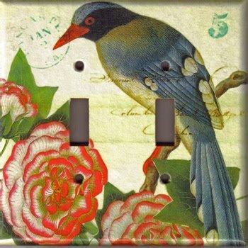 Decoupage Light Switch Covers - decoupage light switch cover home accessories