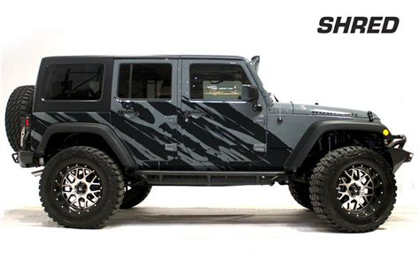 jeep decals jeep wrangler rubicon custom vinyl graphics decal 2 4 kit