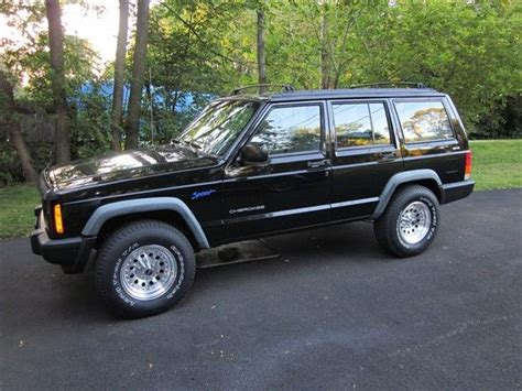 cool jeep cherokee 1997 jeep cherokee sport cool car stuff pinterest