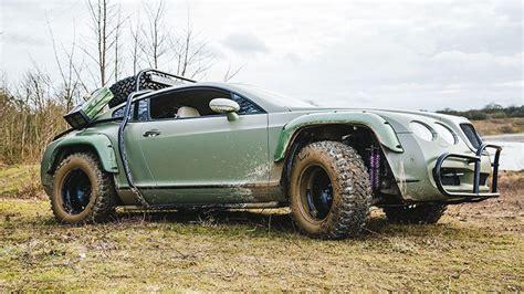 custom dakar inspired road bentley continental gt sold