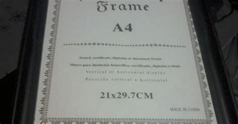 Hiasan Dinding A4 Frame apabila keyboard menggantikan pen frame hiasan