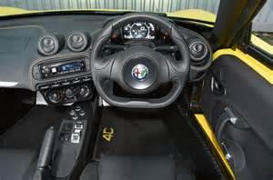 Interior Trim Styles by Alfa Romeo 4c Spider Interior Autocar