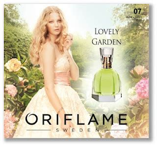 Parfum Oriflame Lovely Garden cosmetics notes advices discussions new oriflame products quot lovely garden quot perfume