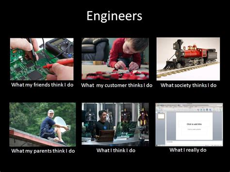 Electrical Engineer Memes - am i an engineer what i quot think quot do vs what i quot really quot do
