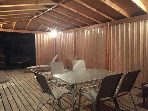 cortinas de plastico para terrazas cortinas terraza cool cortinas terraza madera