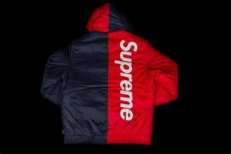 Jaket Hoodie Supreme X Chion Color Blocked collection of supreme jacket best fashion trends and models